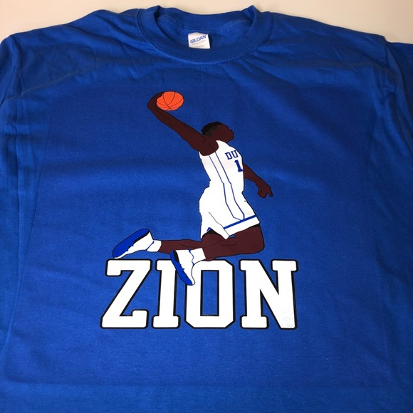 aed3553673ff Duke University Blue Devils Zion Williamson Shirt